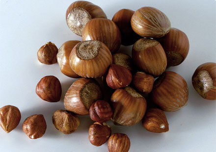 hazelnut-shelled